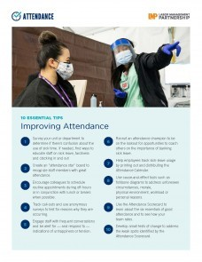 flier with image of 2 female health care workers, one wearing a mask and the other wearing a face shield