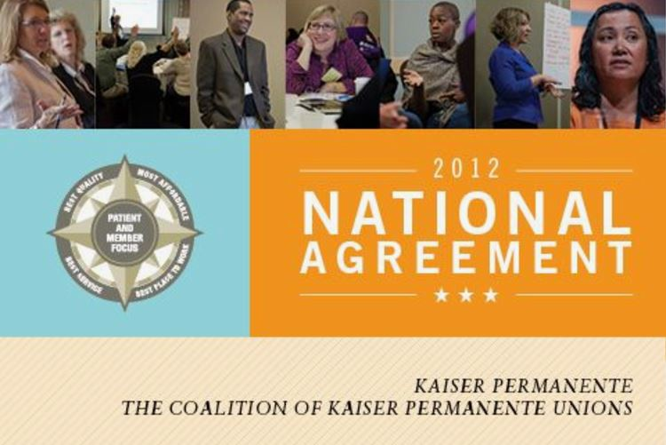 cover of 2012 National Agreement