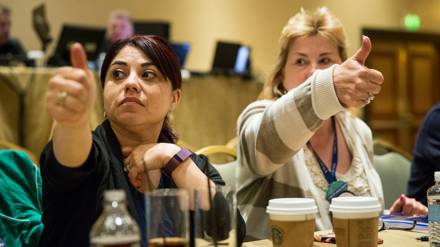 Members of the Common Issues Committee at 2015 National Bargaining