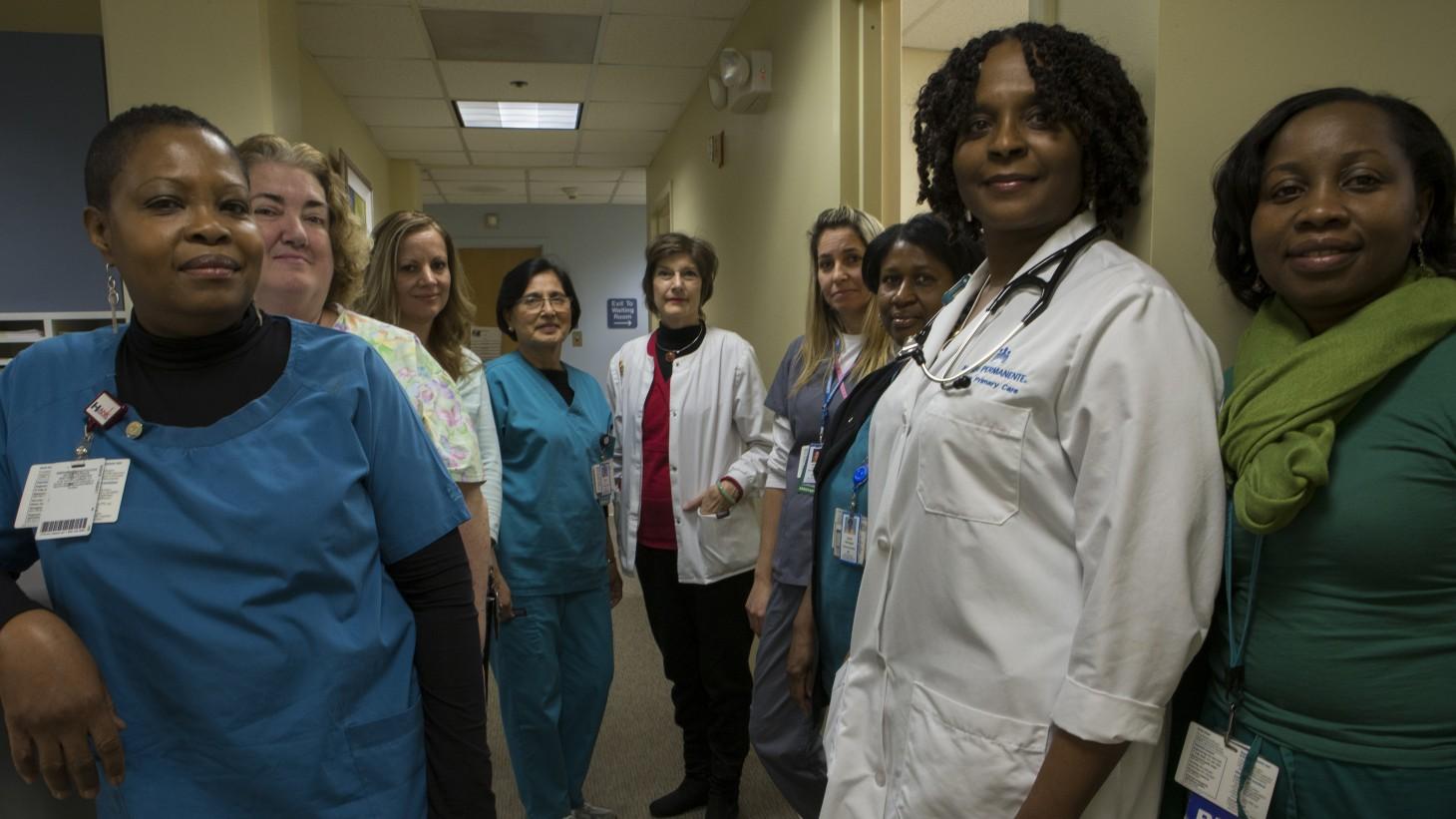 Adult Medicine team at Shady Grove Medical Center