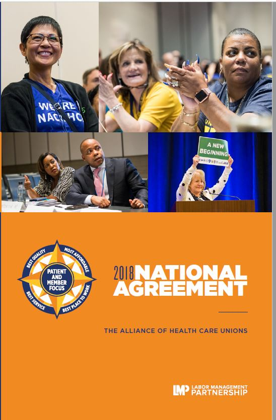 Cover of 2018 Alliance National Agreement