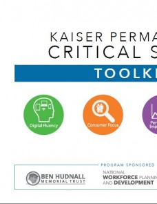 Critical Skills Toolkit cover page