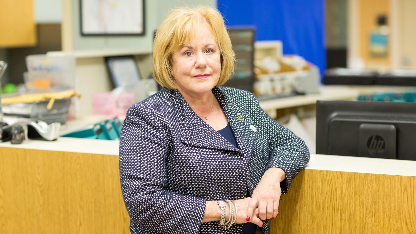 Denise Duncan, RN, UNAC/UHCP president