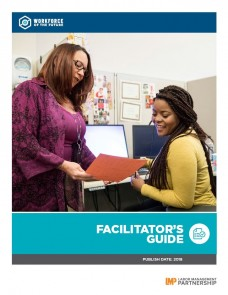 Workforce of the Future Facilitator's Guide cover image of 2 employees