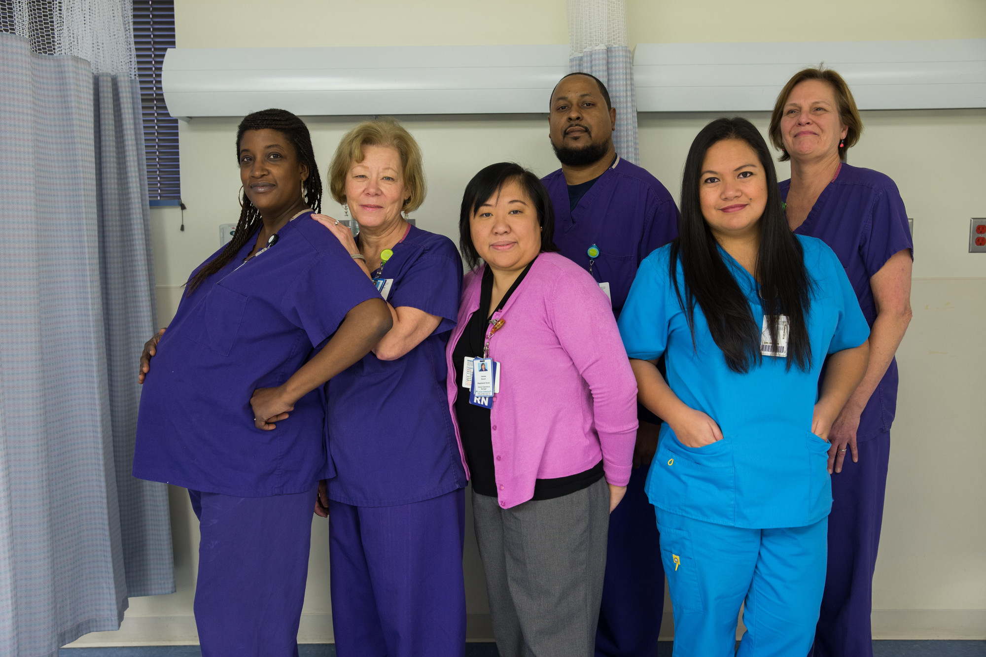 The endoscopy unit-based team at KP's Falls Church facility