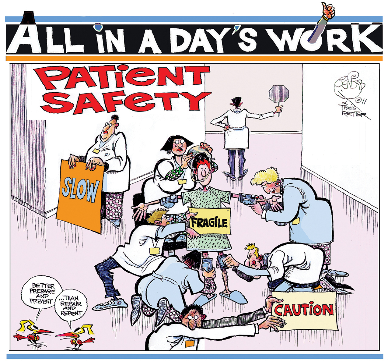 All in a Day's Work: Patient Safety | Labor Management ...