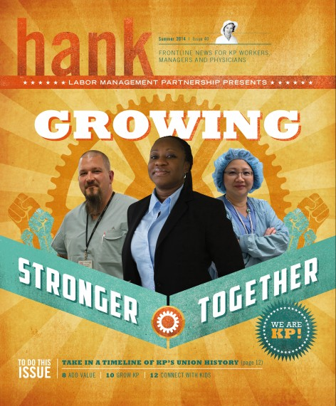 Cover of Summer 2014 Hank