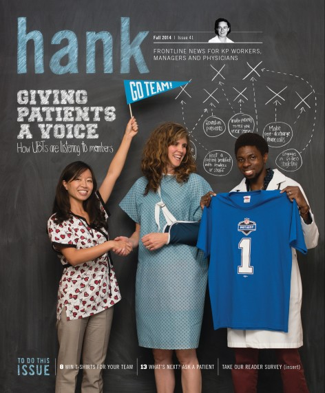 Cover of Fall 2014 Hank