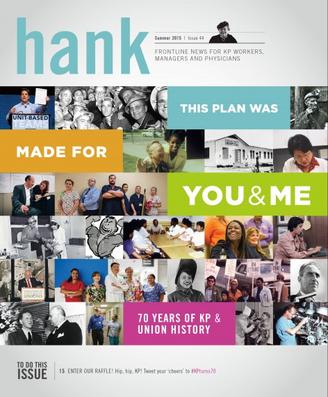 Cover of Summer 2015 Hank