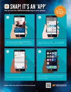 Poster: Snap! It's an 'App' | Labor Management Partnership