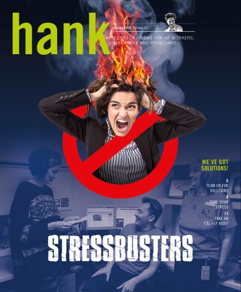 Cover of Spring 2016 Hank magazine