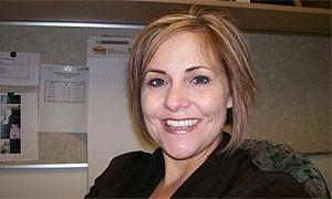 UBT coordinator Mandy Sly