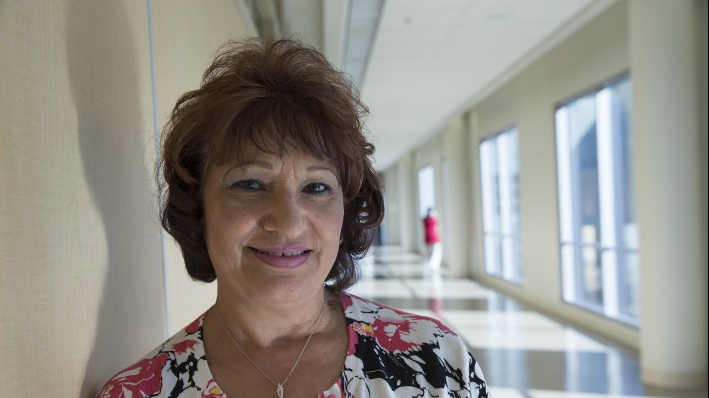 "alt=""Emergency department supervisor Rosemary Sanchez."""