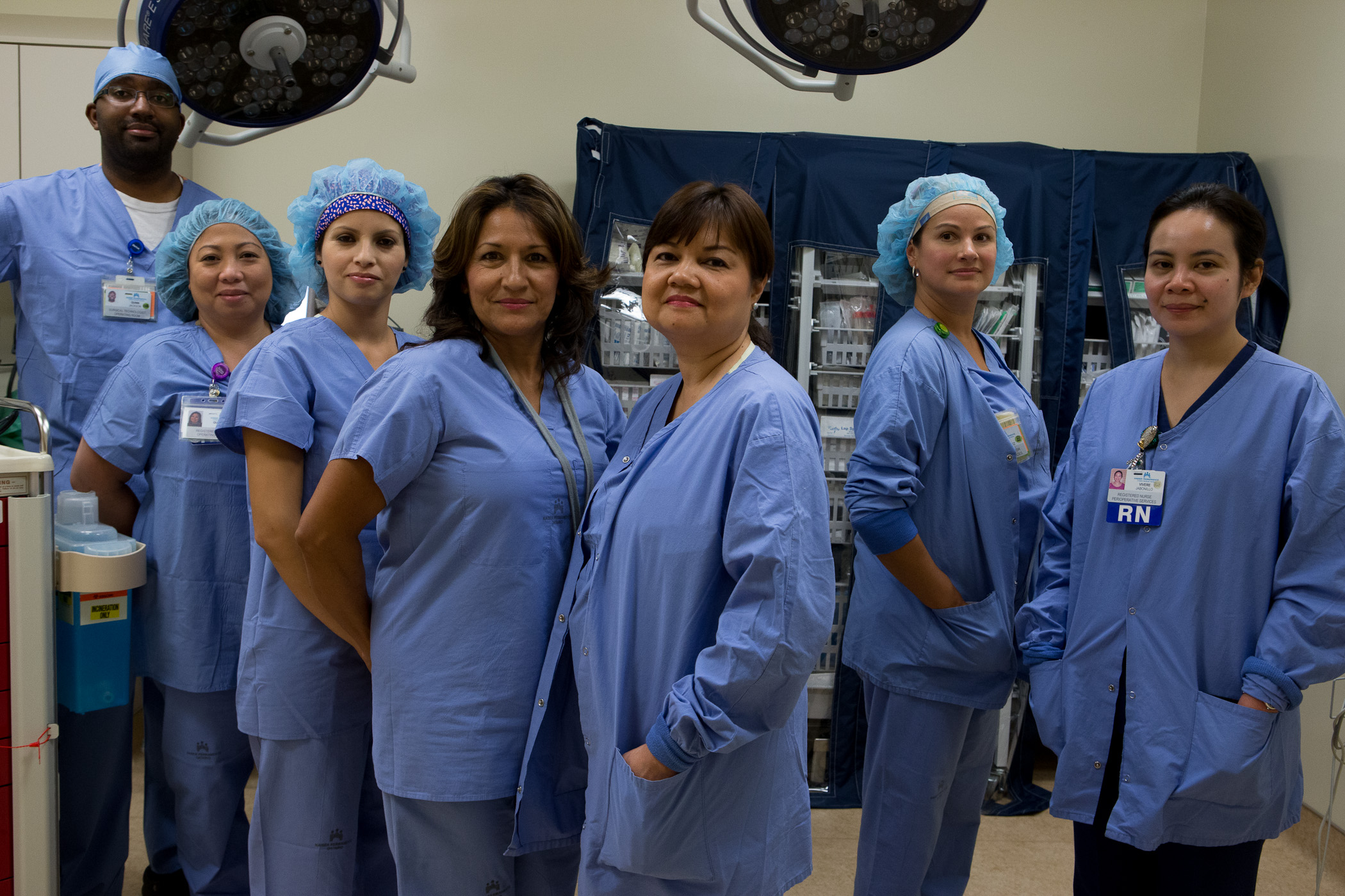 "alt=""Members of the Perioperative team at Ontario Medical Center."""