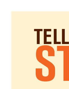 Poster: Tell Me Your Story [template] | Labor Management Partnership