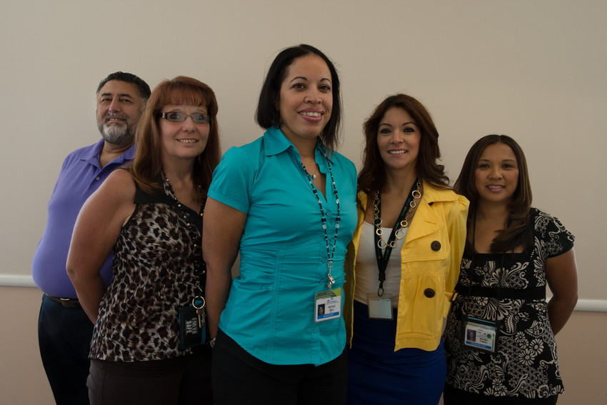 The Stockton financial services team.