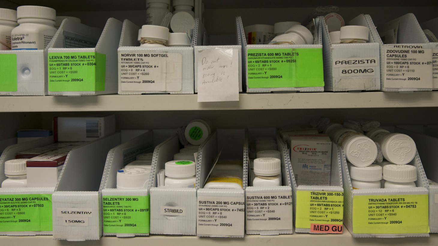 An oversupply of on-hand medications can be wasteful.