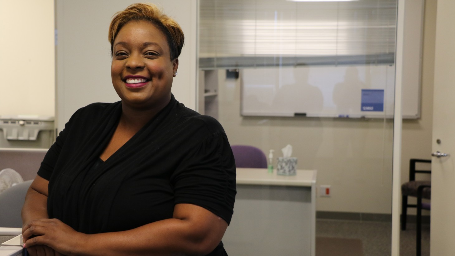 Joanna Harris, claims examiner and UBT labor co-lead, OPEIU Local 29 (Northern California Regional Office)