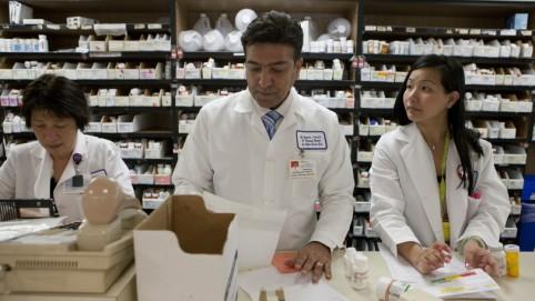 Pharmacy technicians.