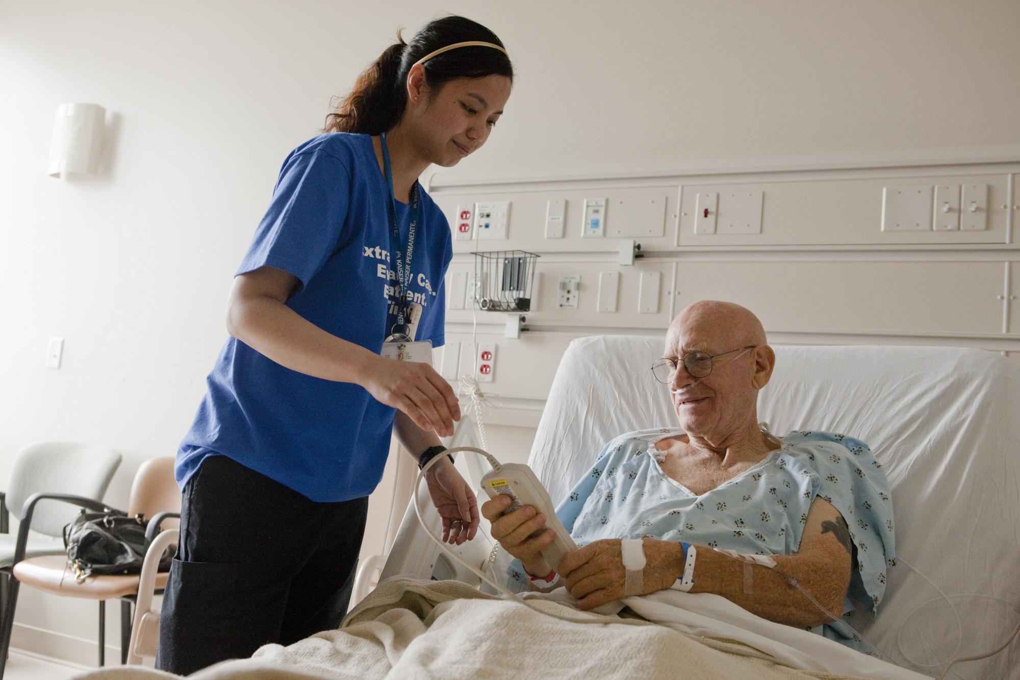 Irvine Medical Center RN Jennifer Nanasca.