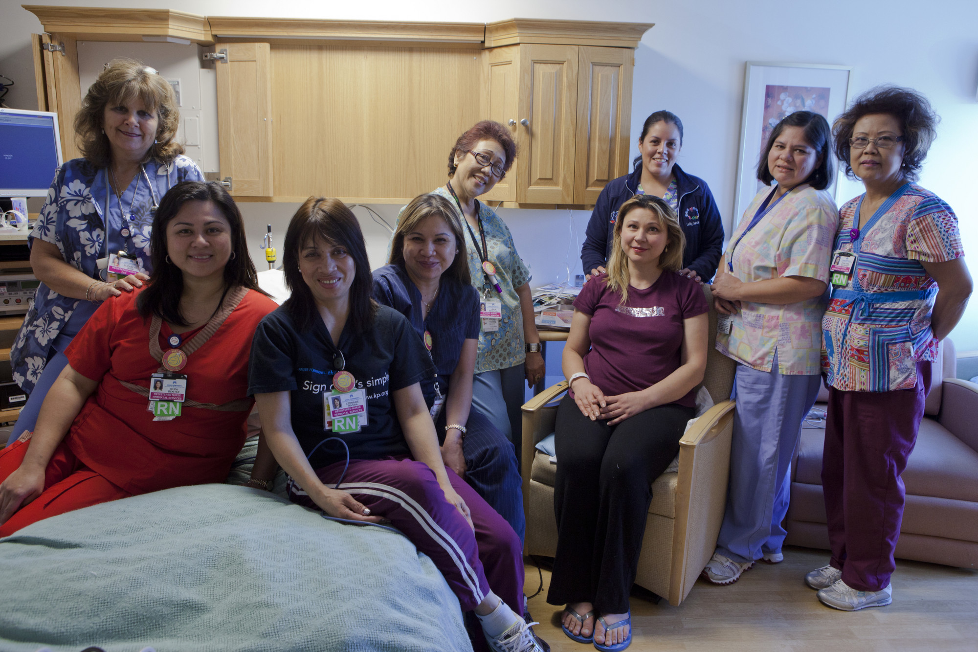 Family centered care team in Panorama City.