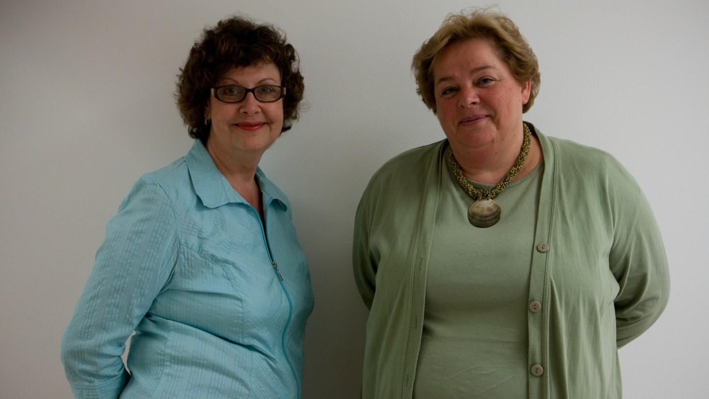 Carol Hammill and Ursula Doidic