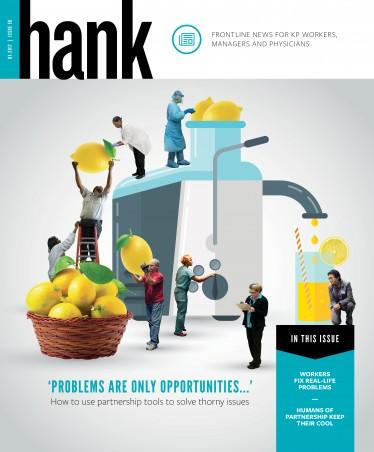 cover of Hank magazine