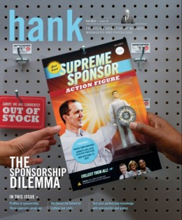Cover of Fall 2012 Hank