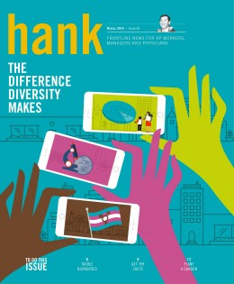 Cover of Winter 2016 Hank magazine