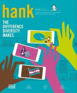 Cover of Winter 2016 Hank magazine