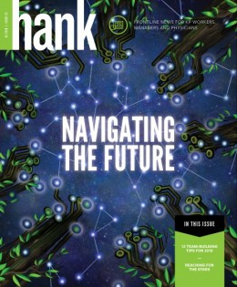 Image of Hank magazine cover Navigating the Future