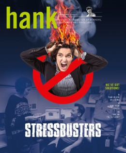 Cover of Spring 2016 Hank magazine