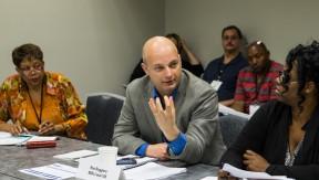 Ron Ruggiero, president of SEIU Local 105 in Colorado