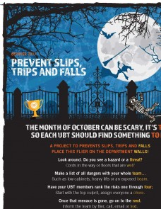 Halloween-themed flier image